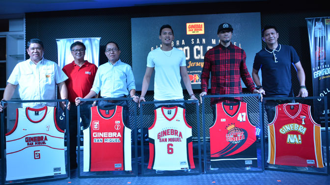 GINEBRA SAN MIGUEL LAUNCHES GANADO CLASSICS JERSEY COLLECTION PROMO