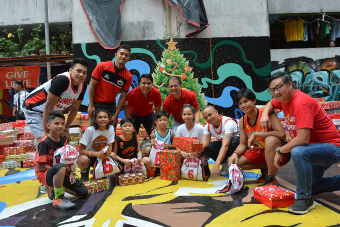 GINEBRA SAN MIGUEL HOLDS GIFT-GIVING FOR TAGUIG TENEMENT RESIDENTS