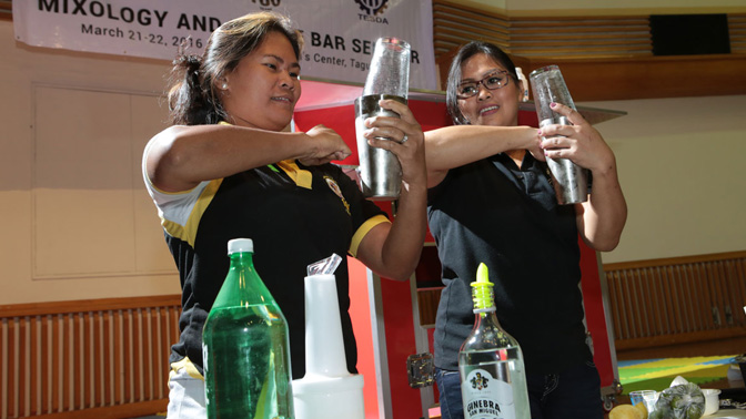 TECHNOPRENEUR PROGRAM BENEFICIARIES GET MORE TRAINING FOR MOBILE BAR BUSINESS