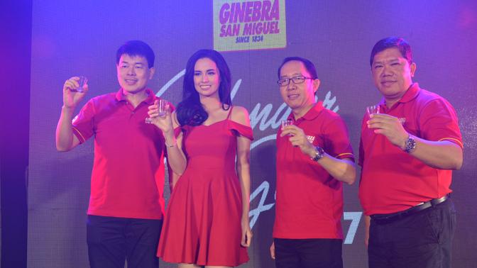 NEWEST 'PANTASYA NG BAYAN' IS GINEBRA SAN MIGUEL'S 2017 CALENDAR GIRL