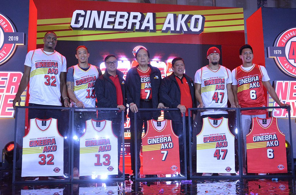 BARANGAY GINEBRA GIN KINGS CELEBRATES 40 YEARS