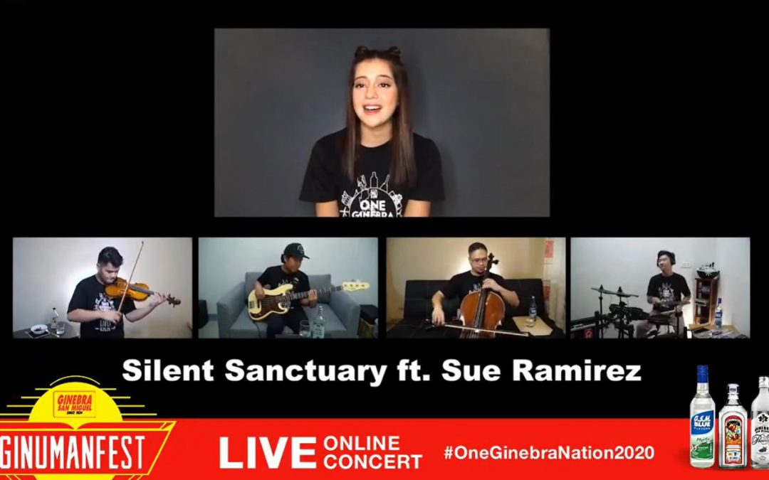 Ginebra San Miguel salutes frontliners and the Filipino Spirit with first Ginumanfest live online concert