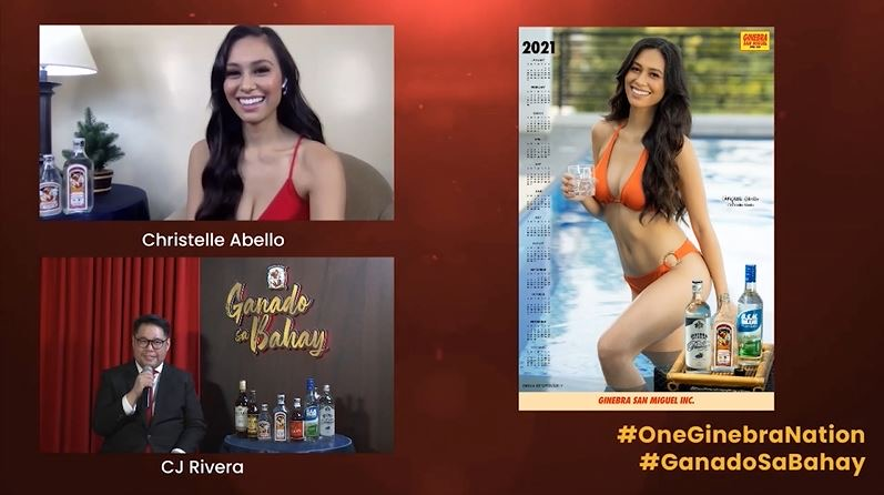 Ginebra San Miguel launches 2021 Calendar Girl