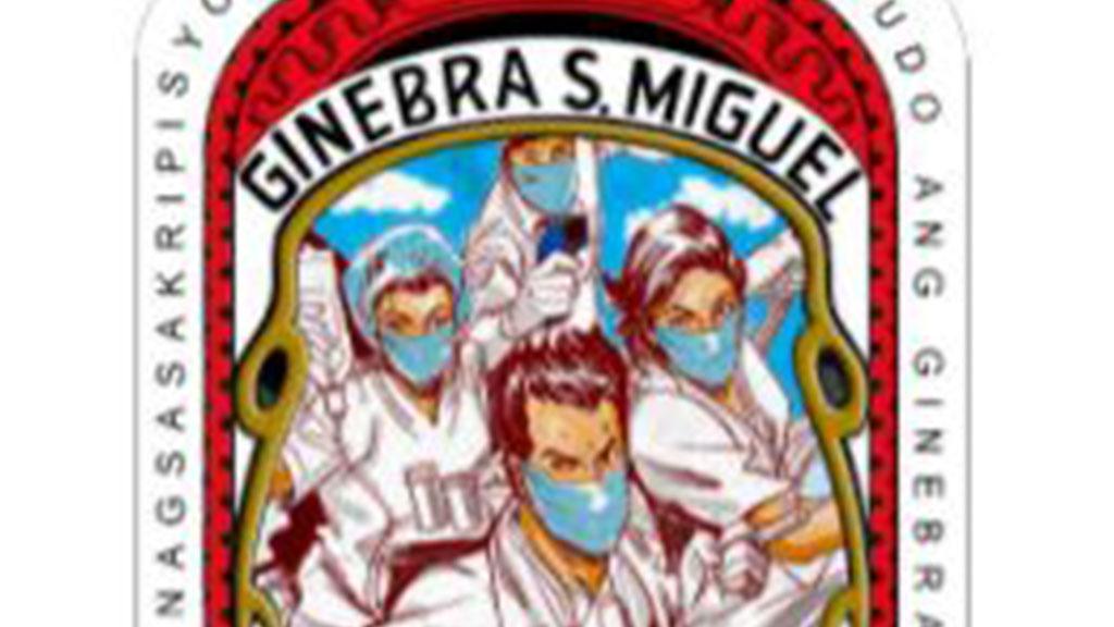Ginebra San Miguel frontliner label bags international recognition