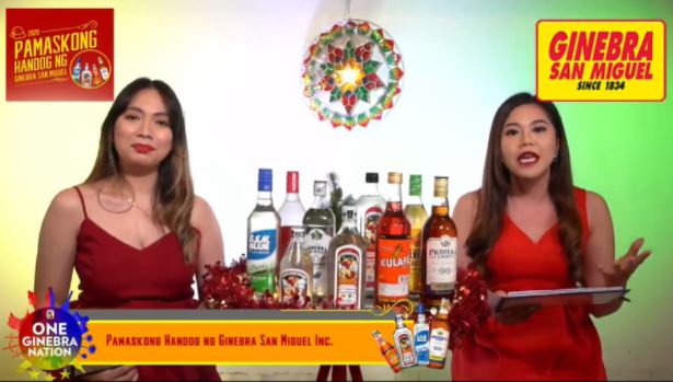 Ginebra says thank you to consumers via first virtual game show