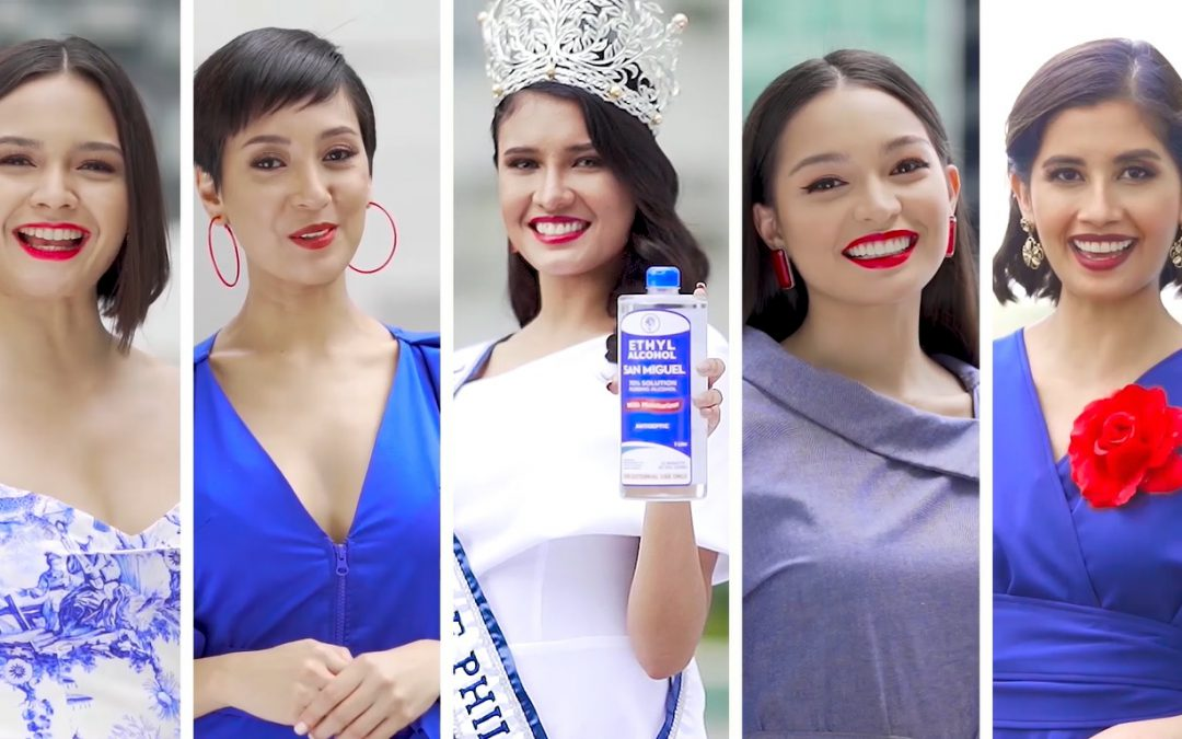 Miss Universe Philippines Rabiya Mateo, runners-up reunite for an advocacy