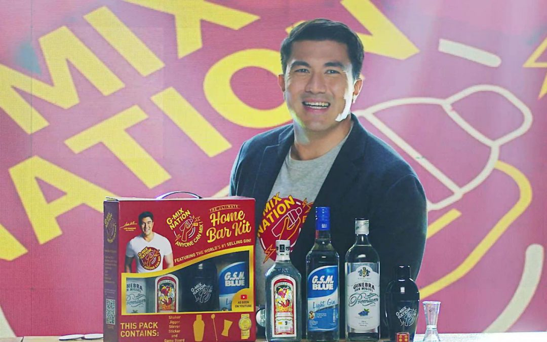 Ginebra San Miguel Luis Manzano collab for first-ever online mixology series